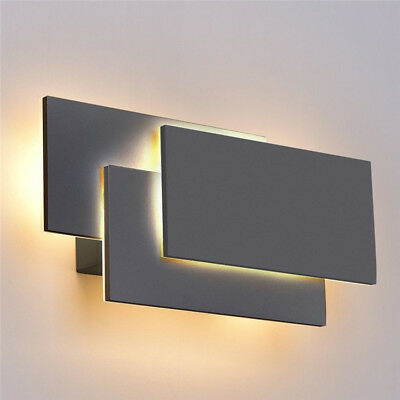 24W Modern LED Wall Sconce Fixtures Light Lamp Indoor Living Room Home Lighting