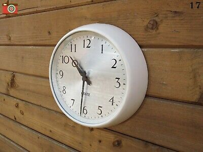 Vintage Gents Of Leicester Wall Clock, Restored & Updated. Bakelite