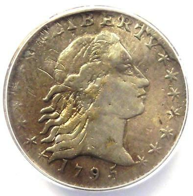 1795 Flowing Hair Half Dime H10C LM-10 - ANACS F12 Detail - Rare Certified Coin!