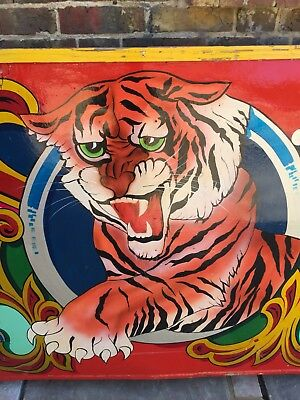 Hand Painted Circus Sign