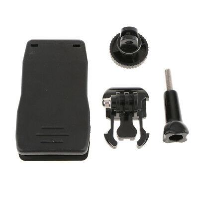 Lovoski 360 Rotary Backpack Hat Mount Clip Fast Clamp Mount for GoPro Hero