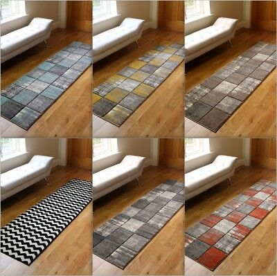 New Modern Runners Small Large Medium Size Carved Quality Thick Rugs Mats UK