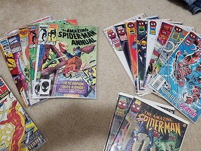 Amazing Spider-Man Annual 18,19,20,21,27,28 Spiderman Group 405-414 (NM)