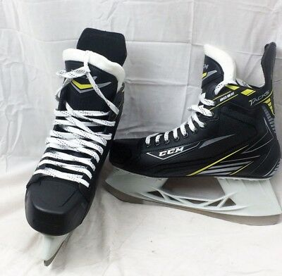 CCM 2092 Tacks Senior Ice Hockey Skates - Size 11 - Black/Yellow - NEW