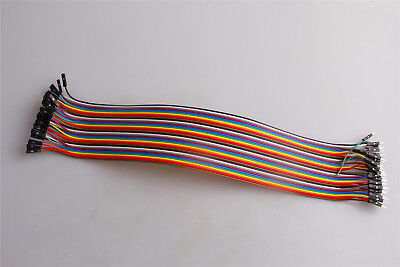 Jumper Wire Dupont F-M Female to Male 30cm For Breadboard Arduino 2.54mm 40pcs