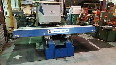 Omes Omatic 320R turret punch press cnc camsoft