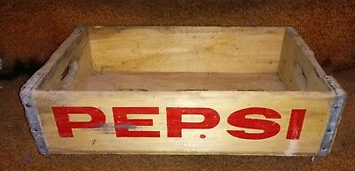 Old wooden pepsi crate Marion