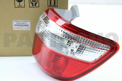 815510K110 Genuine Toyota LENS, REAR COMBINATION LAMP, RH 81551-0K110