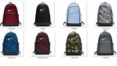 bcc1f45a3241 NEW NWT NIKE Brasilia XL Backpack High Stakes Student Hermosa Prime