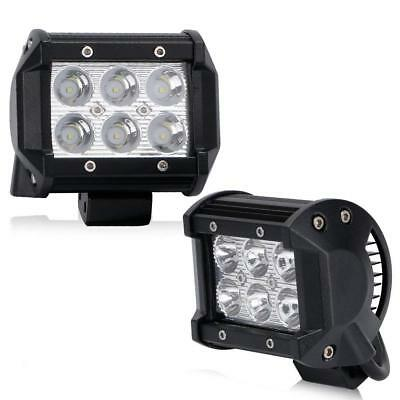 18W Spot LED Light Work Bar Lamp Driving Fog Offroad SUV 4WD Car Boat Truck
