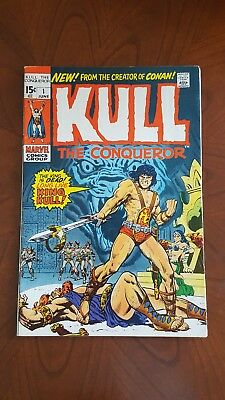 KULL THE CONQUEROR #1. Marvel. June 1971
