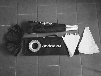 godox p90L , bought but used once. Softbox, Bowes fit