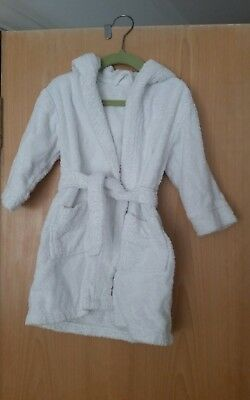 Baby towelling robe 18-24 months