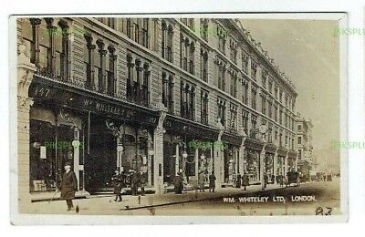 Old Postcard Whiteley Department Store London Real Photo Used Kensington 1911