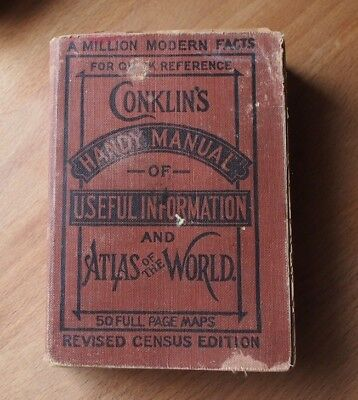 Conklin's Handy Manual of Useful Information and Atlas of the World