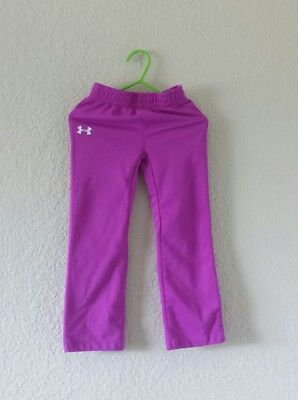 Under Armour Pants athletic fitness 100% polyester toddler girl's size 3T