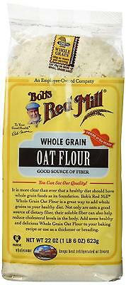 Bob's Red Mill Flour Oat, 22-ounces Pack of4