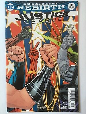 Dcu Rebirth: Justice League #16 Variant Cover Edition Dc Comics May'17 Free P&p