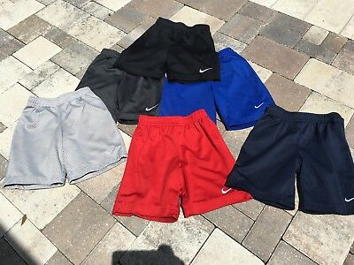 Six Pair Lot Of Boys Nike Size 6 Shorts And One Shirt