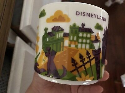 Disney Parks Disneyland Haunted Mansion You Are Here Starbucks Mug 2018 New! L.E