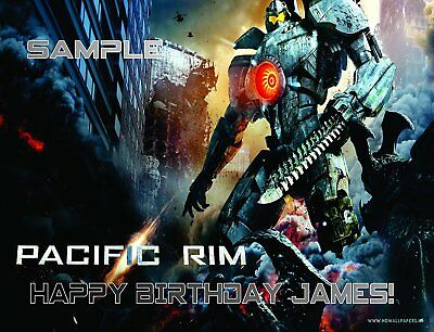 Pacific Rim Cake Toppers Frosting Sheets Edible Image