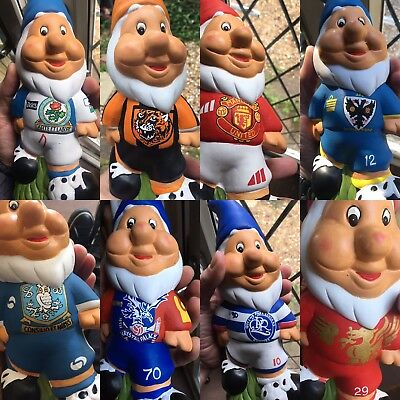 Hand painted Personalised Football Garden Gnome