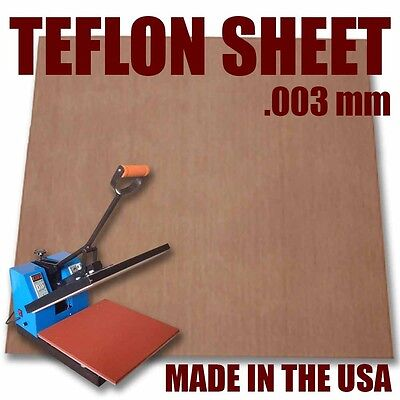 3 Pack Teflon Sheet For 16x20 Heat Press Transfer Sheet SUPER SALE LIMITED TIME