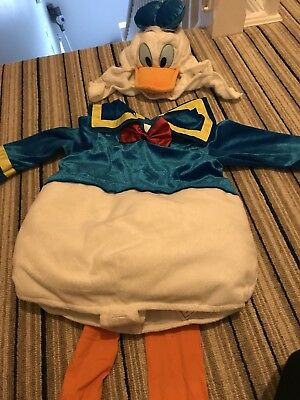 Disney Store Donald Duck Costume 18-24 Months