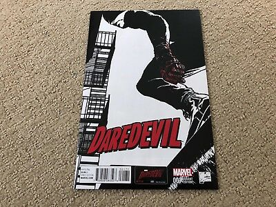Daredevil #1 1:100 Joe Quesada Sketch Variant  (May 2014, Marvel) Rare HTF NM