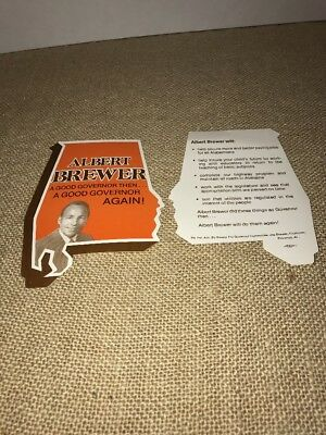 Vintage Albert Brewer Alabama Governor Memorabilia (245)