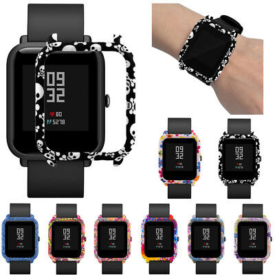Pattern PC Case Cover Protect Shell For Xiaomi Huami Amazfit Bip Youth Watch