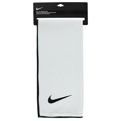 New NIKE GOLF Microfiber Towel - Gym/Face/Club - Tour - Large 48cm x 104cm White
