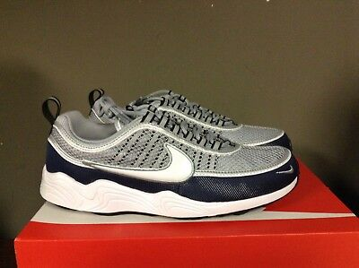 d3d38a167d45 Men s Nike Air Zoom Spiridon  16 Wolf Grey white-Midnight Navy-Black