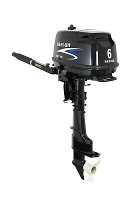 6 HP Parsun Long Shaft Outboard Motor w/12V2~6A Output