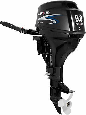9.8 HP Outboard Motor with Electric Start