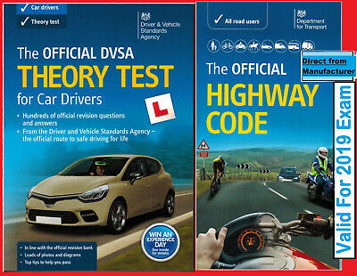 2018 Tests - DSA Driving Test Car Theory Book and Highway Code Book*thrybHW
