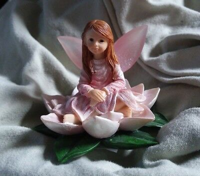 NATURE'S WOODLAND FAIRY Faerie Purity.Sweet Petals Of Spring Enesco MINIATURE