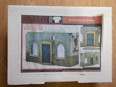 Realty In Scale 1/35 North African House  #35207  Resin