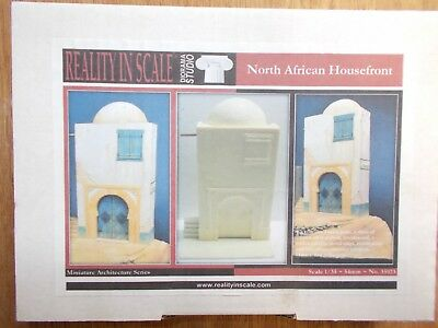 Reality In Scale 1/35 North African Housefront  #35023  Resin