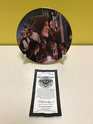 Star Wars Obi-Wan Kenobi Heroes And Villains Plate Collection! #1667A