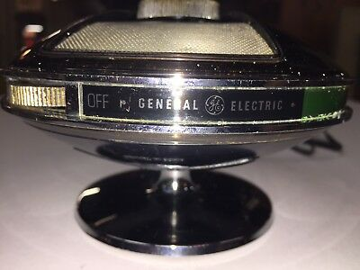 VINTAGE 70,s GE SPACESHIP MODEL FLYING SAUCER TRANSISTOR UFO RADIO