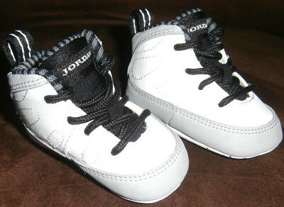 Jordan Infant Shoes size 1c.  Jordan Baseball shoes with #45 on back.