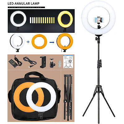 LED Ring Light 5500K Dimmable with Light Stand Dimmable Lighting Kit Youtube
