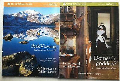 The National Trust Magazine Number 98 Spring 2003 & Number 100 Autumn 2003