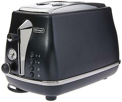 CLEARANCE: New Ocean Blue DeLonghi Icona Elements 2 two slice toaster