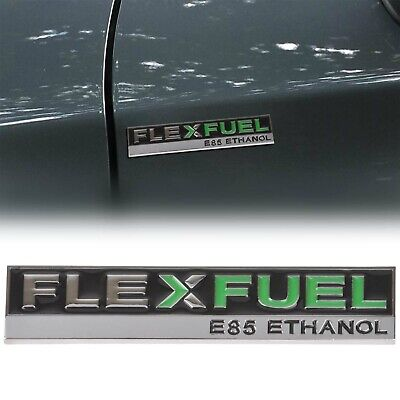NEW Metal Flex Fuel Ethanol Car Emblem Badge Sticker Decal For Dodge Chrysler