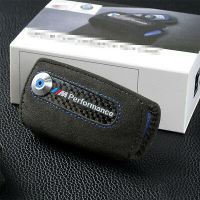 BMW M Performance Suede Key Bag Case Fob Holder F Chassis Models NEW !!!!!!