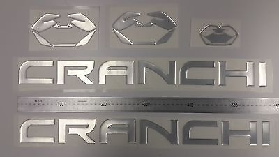 "CRANCHI boat Emblem 22.5"" + FREE FAST delivery DHL express - stickers decal"