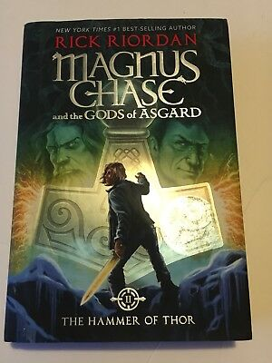 Magnus Chase And The Gods Of Asgard Hammer Thor Book 2 By Rick