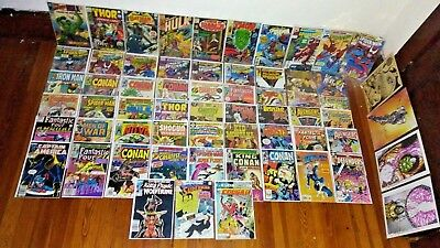 Huge Lot Of 59 Silver/bronze Age Comics_Tales To Astonish,signed Books,thor+More